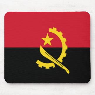 Bandera de Angola Tapetes De Raton
