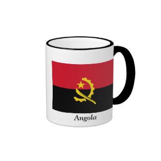 Bandera de Angola Taza De Dos Colores