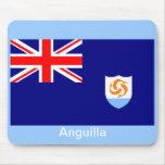 Bandera de Anguila Alfombrillas De Ratones