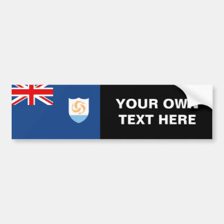 Bandera de Anguila Pegatina Para Auto