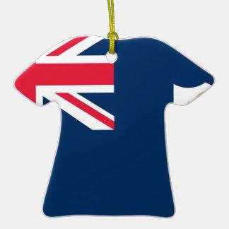 Bandera de Anguila Ornaments Para Arbol De Navidad