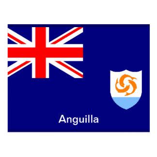 Bandera de Anguila Postales
