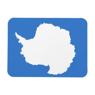 Bandera de Antartican Iman Rectangular