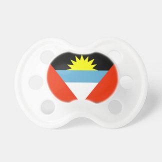 Bandera de Antigua y de Barbuda Chupetes Para Bebes