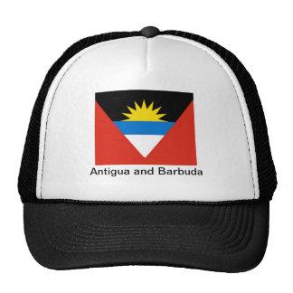Bandera de Antigua y de Barbuda Gorra