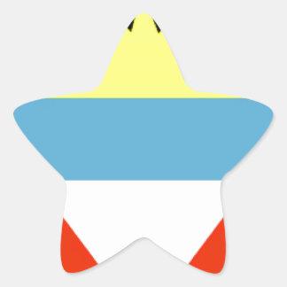 Bandera de Antigua y de Barbuda Pegatina