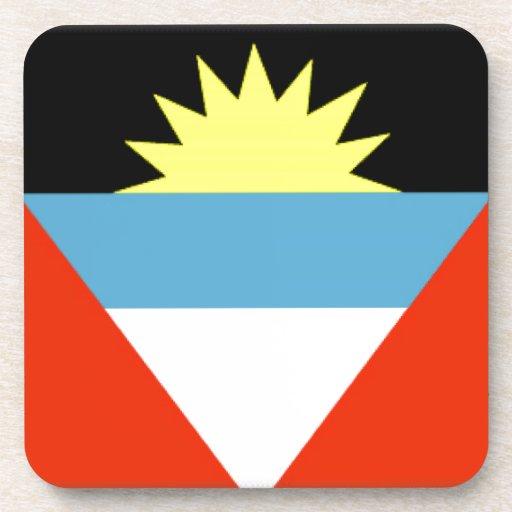 Bandera de Antigua y de Barbuda Posavasos De Bebidas