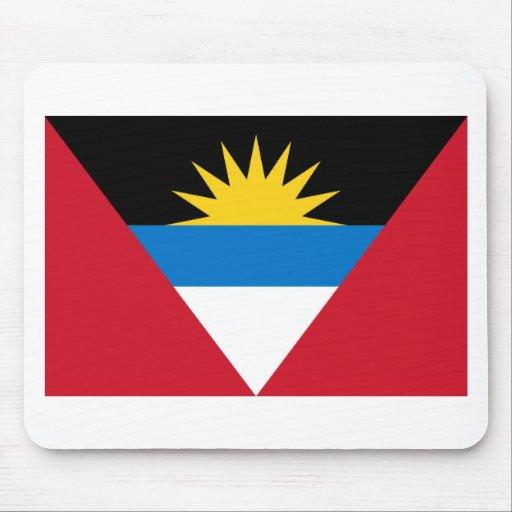 Bandera de Antigua y de Barbuda Tapetes De Ratones