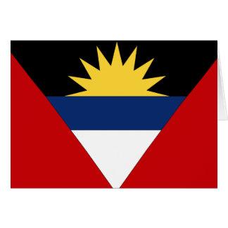 Bandera de Antigua y de Barbuda Felicitaciones
