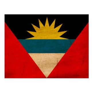 Bandera de Antigua y de Barbuda Tarjetas Postales