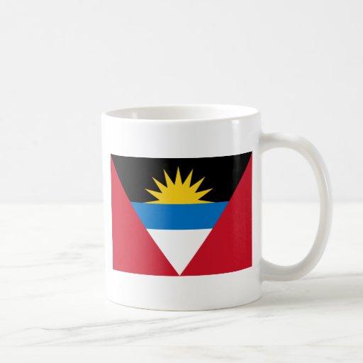 Bandera de Antigua y de Barbuda Taza Clásica