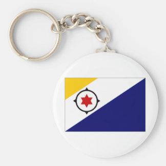 Bandera de Antillas holandesas Bonaire Llavero Redondo Tipo Pin