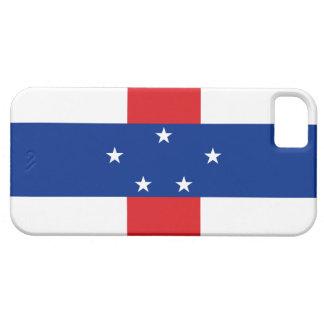 Bandera de Antillas holandesas Funda Para iPhone 5 Barely There