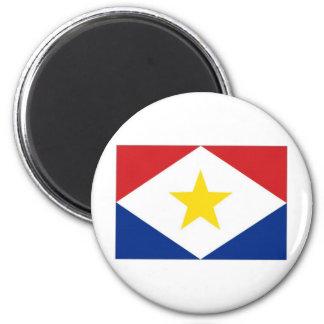 Bandera de Antillas holandesas Saba Imán Para Frigorifico