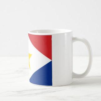 Bandera de Antillas holandesas Saba Taza De Café