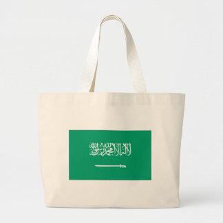 Bandera de Arabia Saudita Bolsa Tela Grande