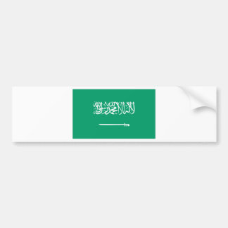 Bandera de Arabia Saudita Pegatina Para Auto