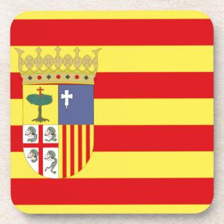 Bandera de Aragón Posavasos De Bebidas