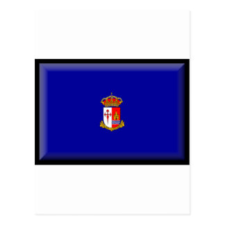 Bandera de Aranjuez (España) Postal