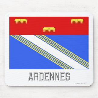 Bandera de Ardenas con nombre Tapetes De Raton