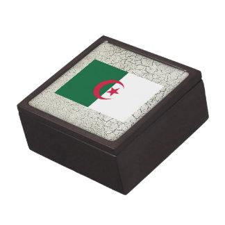 Bandera de Argelia Cajas De Recuerdo De Calidad