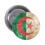 Bandera de Argelia del vintage Pin
