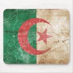 Bandera de Argelia del vintage Alfombrillas De Raton