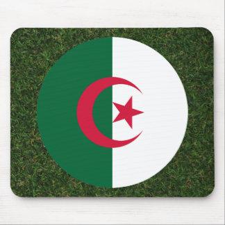 Bandera de Argelia en hierba Mousepads