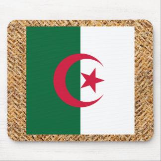 Bandera de Argelia en la materia textil temática Tapetes De Ratón