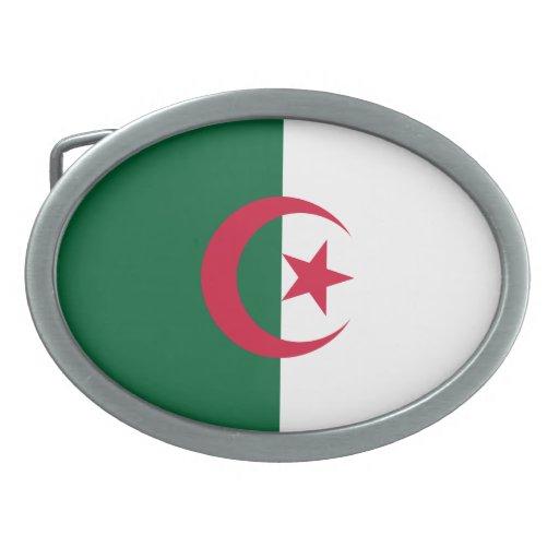 Bandera de Argelia Hebillas Cinturon