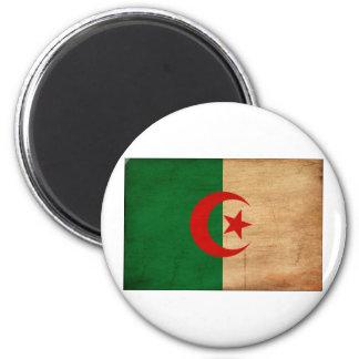 Bandera de Argelia Imán Redondo 5 Cm