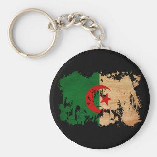 Bandera de Argelia Llavero Redondo Tipo Pin