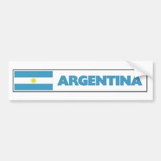 Bandera de Argentia Pegatina Para Auto