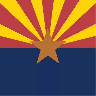 Bandera de Arizona Escultura Fotográfica