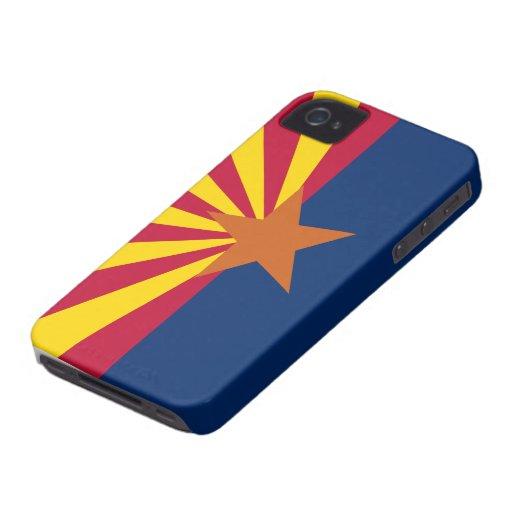 Bandera de Arizona iPhone 4 Fundas