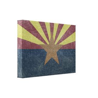 Bandera de Arizona Impresión En Lienzo Estirada