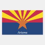 Bandera de Arizona Pegatina