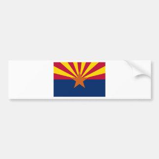 Bandera de Arizona Pegatina Para Auto