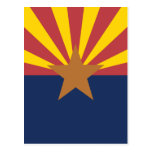 Bandera de Arizona Postales