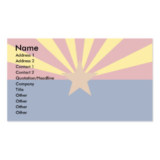 Bandera de Arizona Tarjetas De Visita