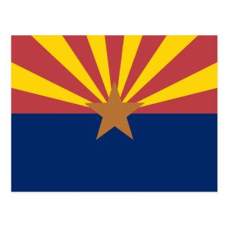 Bandera de Arizona Tarjetas Postales