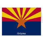 Bandera de Arizona Tarjetón