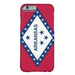 Bandera de Arkansas Funda De iPhone 6 Slim