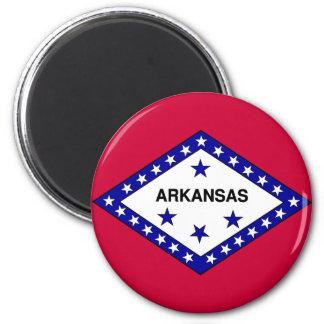 Bandera de Arkansas Imán Redondo 5 Cm