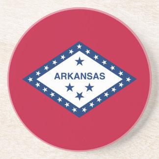 Bandera de Arkansas Posavasos Personalizados