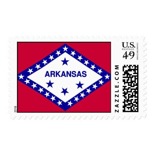 Bandera de Arkansas Sello