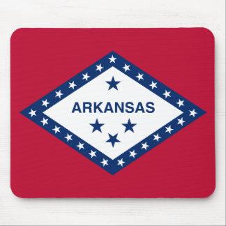 Bandera de Arkansas Alfombrillas De Ratón