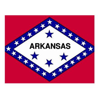Bandera de Arkansas Tarjetas Postales