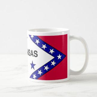 Bandera de Arkansas Tazas De Café