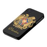 Bandera de Armenia Case-Mate iPhone 4 Protector